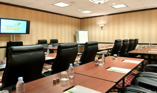 A comfortable meeting room